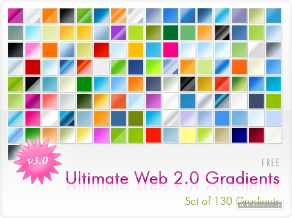 Web 2.0 Gradients